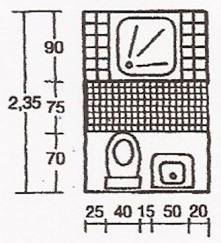 Come ristrutturare un bagno piccolo 4 trucchi vincenti - Progetto bagno piccolo ...