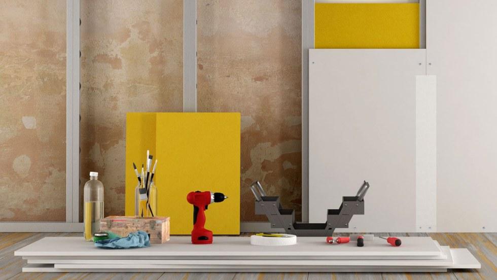Cartongesso: proprietà, tipologie, utilizzi e costi del materiale