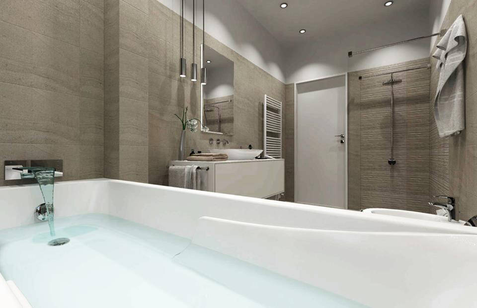 Altezza rivestimenti bagno: fino a dove rivestire?! [FOTO + VIDEO]