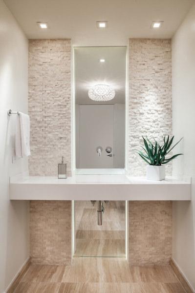 Come arredare un bagno piccolo 17 idee favolose - Luci per bagno design ...