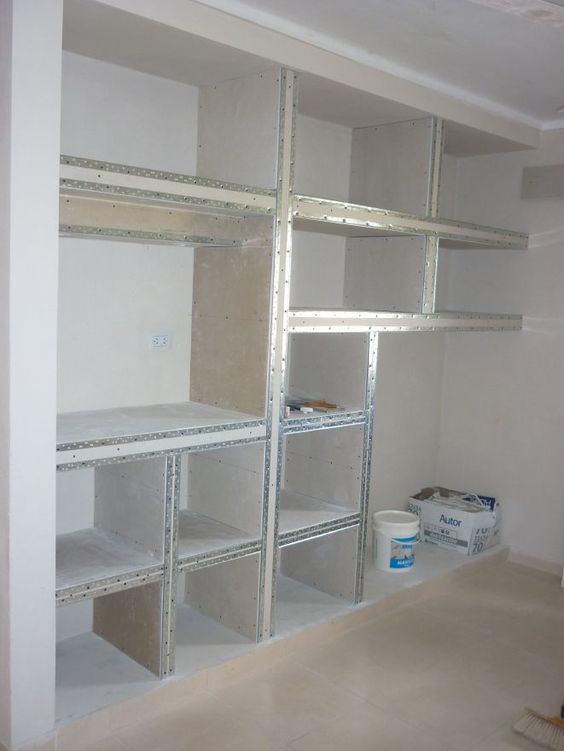 Libreria in cartongesso ecco perch ne vorrai una foto for Techos de drywall para dormitorios