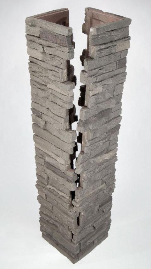 Come rendere un pilastro una soluzione d 39 arredo 14 idee for Costo per costruire pilastri di pietra