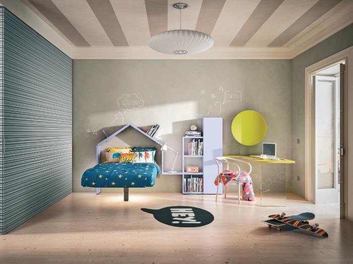 letto-fluttua-camera-bambini