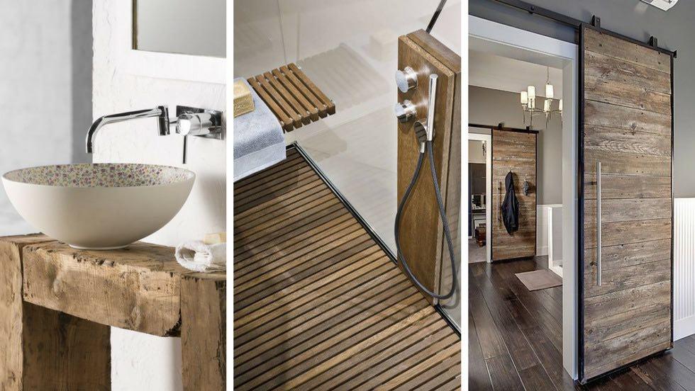 Moda bagno stile rustico da44 pineglen - Mobili per case di campagna ...
