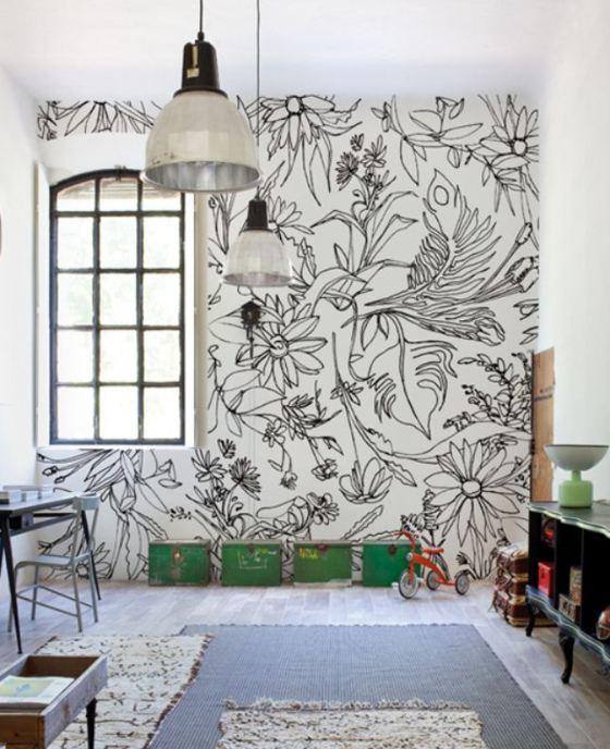 Come arredare una parete bianca e noiosa (senza impazzire!)