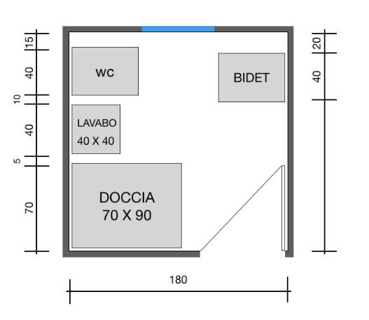 Come arredare un bagno quadrato di qualsiasi dimensione guida - Dimensioni di un bagno ...