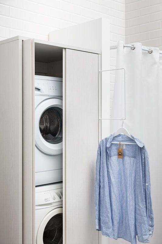 Mobili Per Nascondere La Lavatrice.Come Nascondere Una Lavatrice In Bagno Guida Con Foto