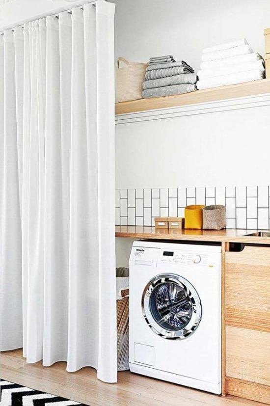 Come nascondere una lavatrice in bagno guida con foto - Lavatrice in bagno soluzioni ...