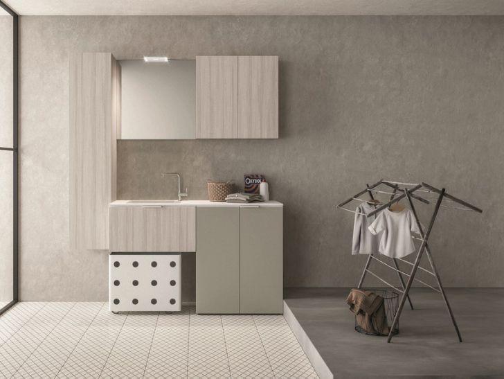 Arredo bagno con lavatrice mobile porta by rab arredobagno nuovo a