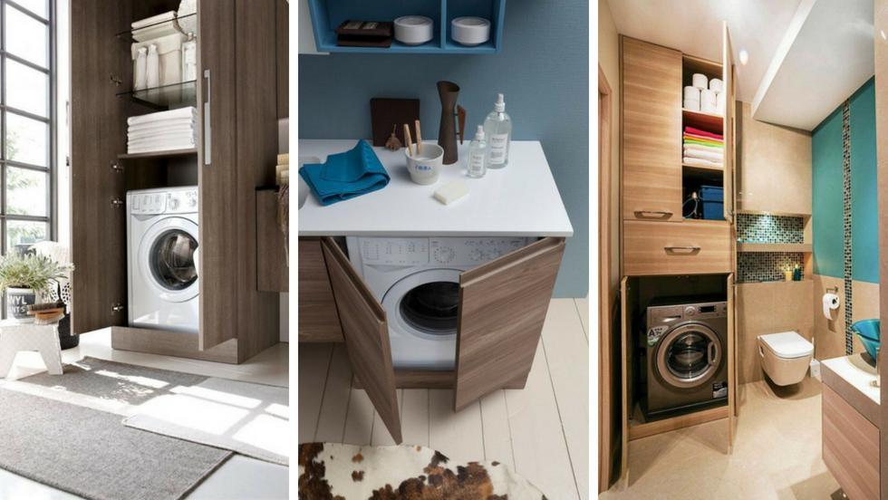 Come nascondere una lavatrice in bagno guida con foto - Idee per lavabo bagno ...