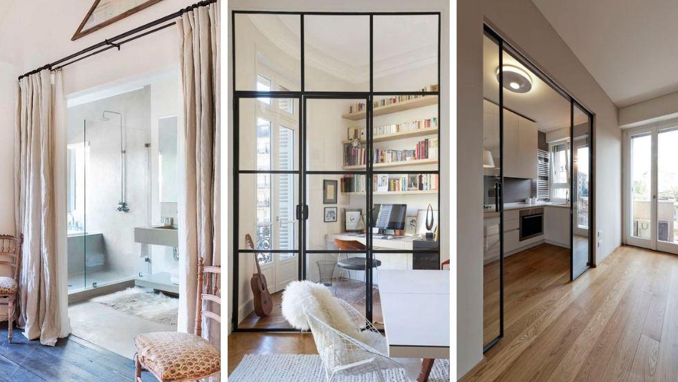 Come dividere una stanza senza opere murarie (e in breve tempo)