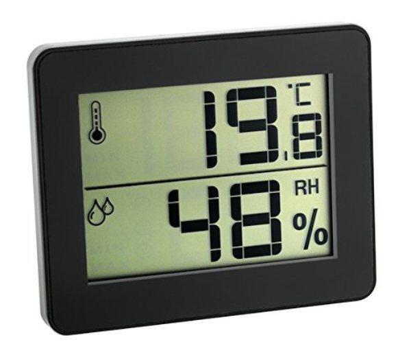 Igrometro digitale touch screen