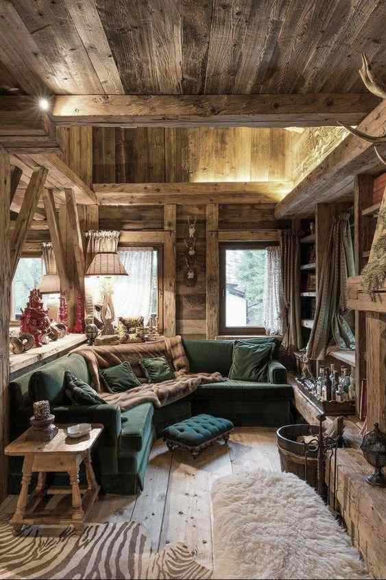 Arredamento rustico casa di montagna