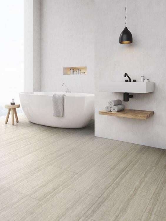 Pavimento in pvc per bagno