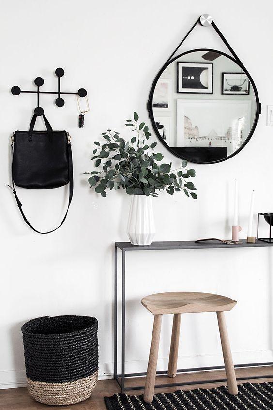 Entrata appartamento stile minimal