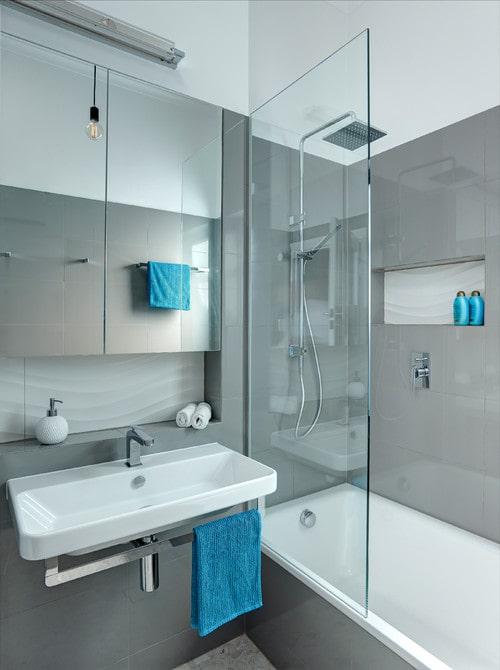 Arredamento per un bagno piccolo