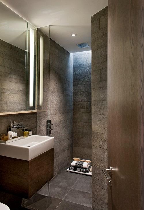 Piastrellatura di un bagno piccolo