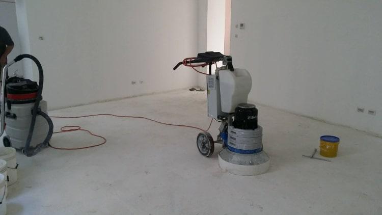 Levigatrice per pavimento in marmo