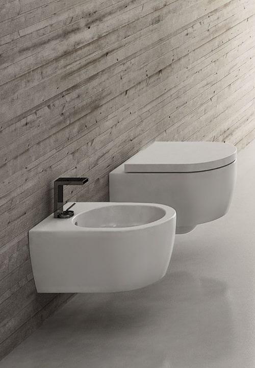Wc e bidet per bagni piccoli