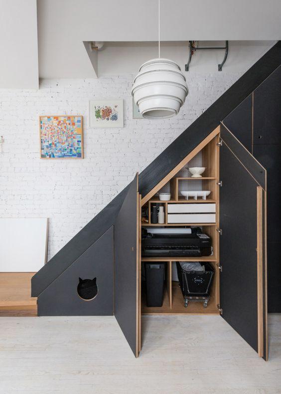 Idea salvaspazio scale interne casa