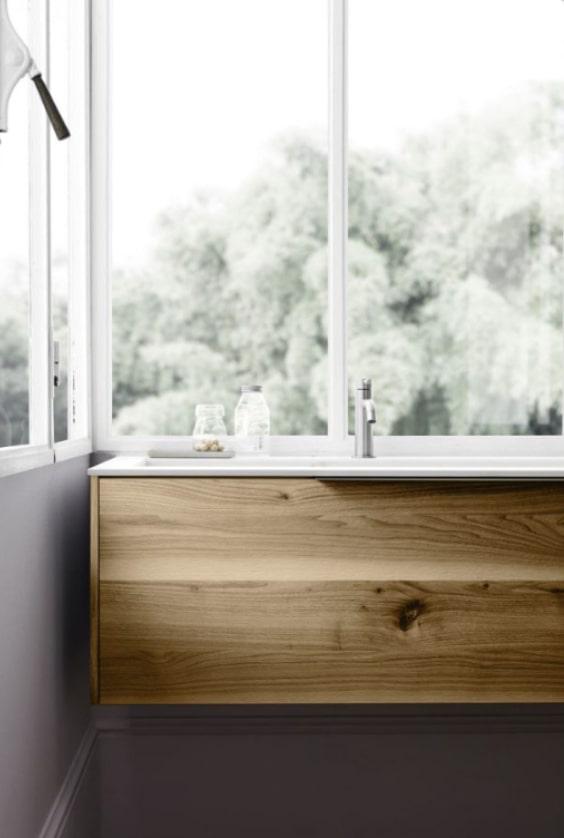 mobile lavabo rustico moderno