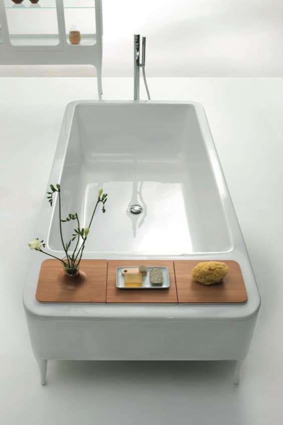 vasca freestanding rettangolare