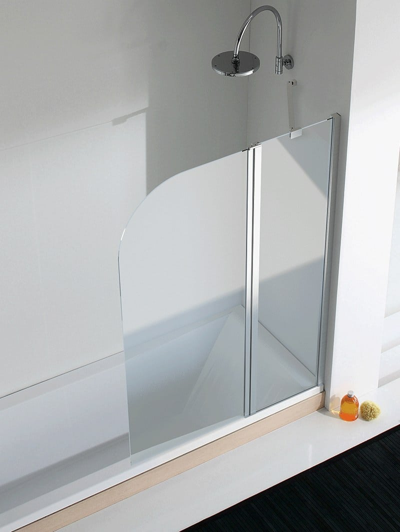 vasca con parete doccia