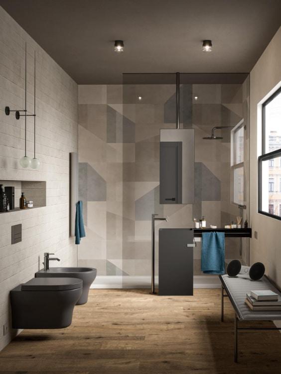bagno moderno completo