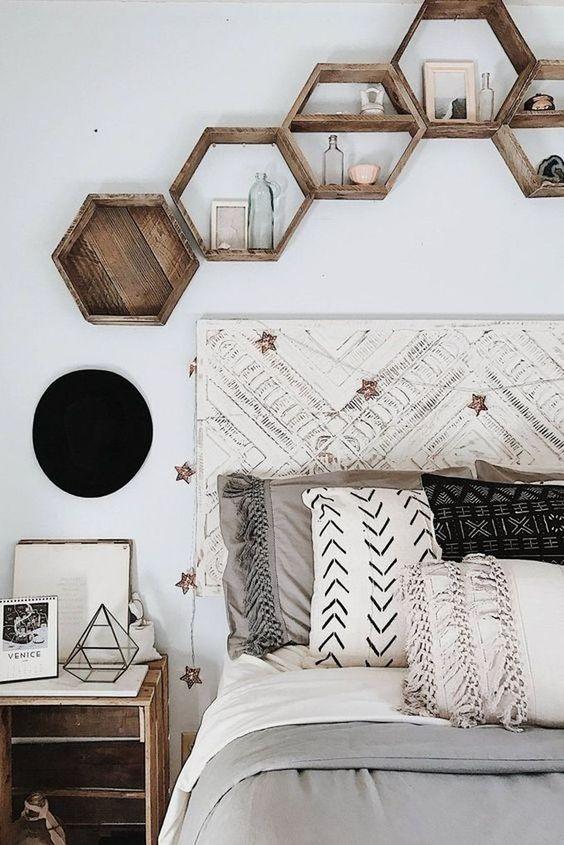 parete letto matrimoniale
