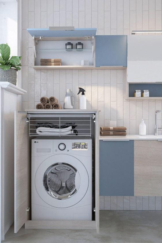arredamento della lavanderia