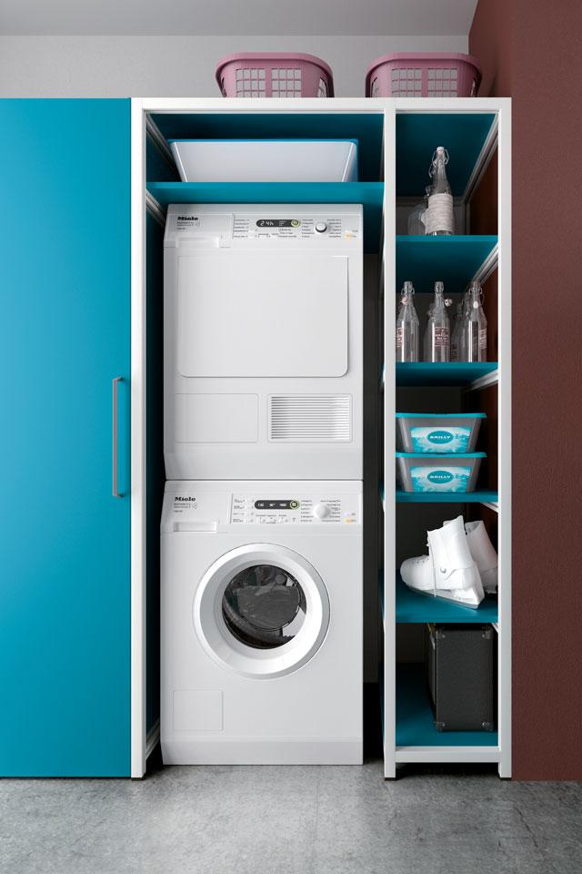 mobile sgabuzzino per lavanderia